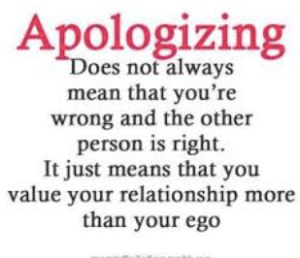 Apologizing Quote #1